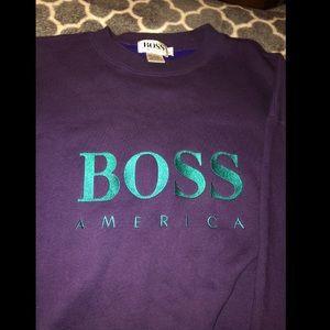 Vintage Hugo boss sweatshirt